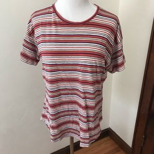 Madewell size large striped tee